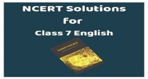ncert solutions for class 7 english